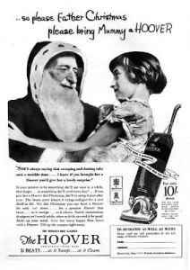 "If she were my daughter, I would say, ""You better not ask Santa for a Hoover, young lady!"" Because I hate vacuums."
