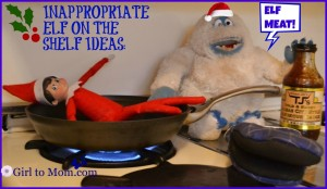 And it seems like this yeti likes to have his meat on the skillet. Not sure if he wants it rare, medium, or well done.
