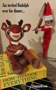 Yet, from how I look at it, Jax wants Rudolph to be the main course. Poor Rudolph.