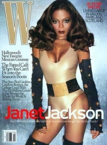 "From Carolyn Collado: ""The pop artist didn't deserve such distasteful W cover with her body looking distorted. The W magazine have done everything to ruin the diva's image including too much makeup, unbecoming outfit and awkward pose you would wonder where was Janet's neck that time."""