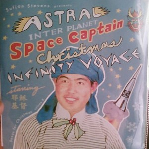 Too bad the space captain will probably suffocate in there and die. Since a turban won't protect him in the vacuum of space. Also, that's not Sufjan Stevens.