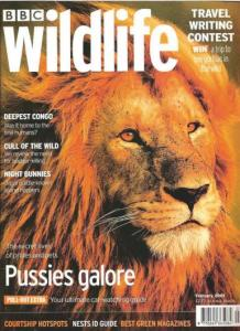 "But do we really need to use ""pussies galore"" in a wildlife magazine. I know you mean cats, but still. It's not great terminology."