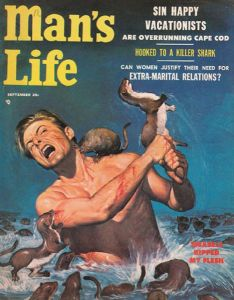 A guy being attacked by otters, that's crazy. I mean otters are playful and cuddly. So it's hard to take seriously.