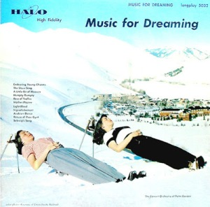 "From Go Retro: ""No wonder I always wake up with a headache! After a long day of cross country skiing, there's nothing better then taking a nap in the snow and dreaming that I'm a 50 foot woman about to be rammed in the head by cars."""