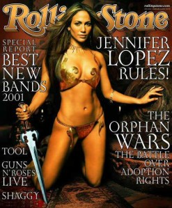I'm sorry but I don't think J.Lo fits into warrior princess mode. That just doesn't seem like her.
