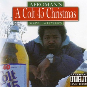 This Christmas album cover is kind of depressing if you ask me. It could just as well be used for the soundtrack to The Wire.