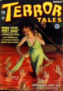 Yes, she loves the Grim Reaper so much that she'll walk all over the River Styx with hands trying to grab her. And here Death just rows along.