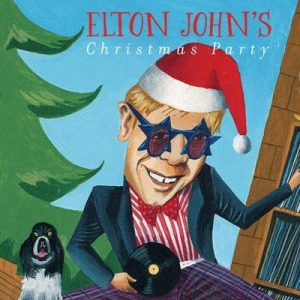 Uh, Elton, I like your music and all. But I think we're all a bit freaked out about you having a record at your crotch. Just letting you know.