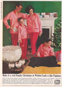 Because nothing says Christmas like wearing matching pink and red pajamas for the whole family. It's amazing if Sonny won't look back at this moment with embarrassment years later.