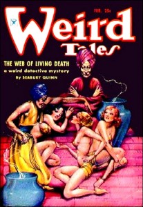 And it seems that any scantily clad women in Weird Tales is seen as white. Makes me wonder if it has anything to do with Missing White Woman Syndrome.
