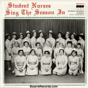 "Hits include: ""They Three Drunks of SantaCon Are,"" ""Bedpans We Have Heard on High,"" ""I'll Be On Call for Christmas,"" and ""Away in a Gurney."" You know stuff nurses have to deal with over the holidays."