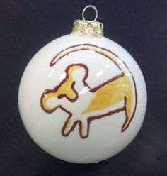 Sure it's a bauble of Simba when he was a cub drawn by Rafiki. But it's a rather iconic image from the movie.