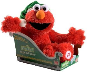 "Elmo sing you ""Jingle Bells"" to spread Christmas cheer. Children love Elmo because he's fuzzy and cute. Though Elmo is super annoying."