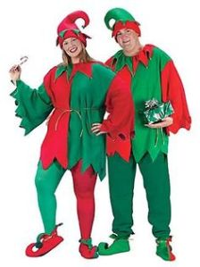 Or if you work at Santaland at the mall. Nevertheless, there's nothing wrong dressing like these elves.