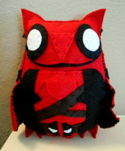 You can tell since it has a Deadpool belt. Still, this is adorable.