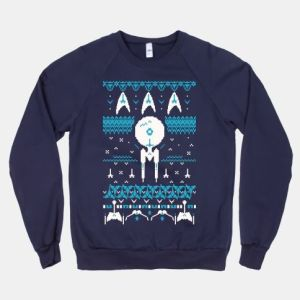 AS you can see, wear this if you want to make it snow. Contains the Enterprise and Starfleet insignia.