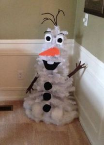 """Hi, I'm Olaf and I give warm hugs."" Easier than building a snowman in parts of the country this time of year, especially where I live."