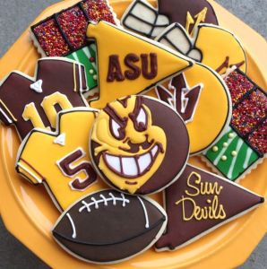 Not sure why they're called the Sun Devils? Oh, wait, it's devilishly hot in Arizona.