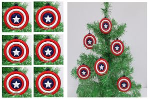 And yes, they mostly consist of his shield. But for any patriotic tree, this is a must have.