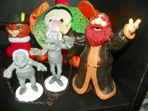These are from A Muppet Christmas Carol. As you know, the chained ghosts are Statler and Waldorf.