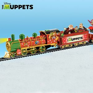 This Muppet Christmas train makes some degree of sense. I think it's quite fitting.