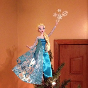 Well, since Christmas takes place in winter, this is quite fitting. However, Elsa isn't as great a role model to young women as many think she is.