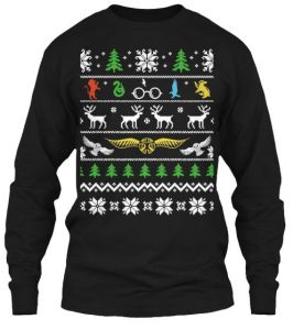 Yet, another ugly Christmas sweater. There just seems no stop to it.