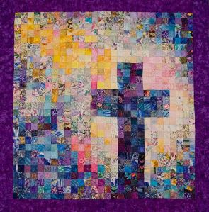 Well, you can easily say that Christianity is its own patchwork. Still, make sure it doesn't touch the floor.