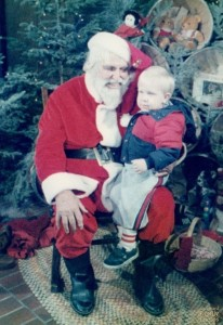 Unfortunately, little Jimmy got stuck with the evil Santa at the mall. He hasn't been seen since.