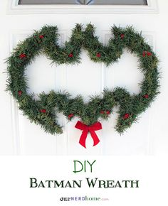 As you can see, this is a DIY project. Yet, it's made more Christmasy with the red ribbon on the bottom.