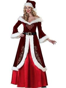 Love the fancy golden embroidery on it, too. And you thought lady Santa outfits were scantily looking.