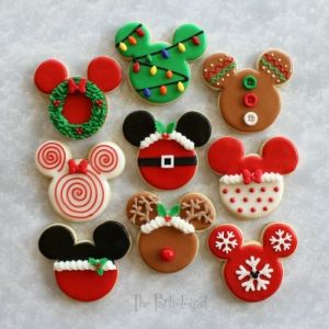 Each cookie presented has its own unique Christmas design on it. Hope you enjoy.