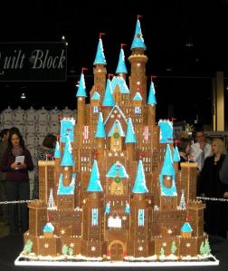 Man, and I though the Hogwarts gingerbread scenes were spectacular. This really takes the cake for me. Love the detail.