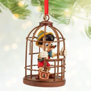 Because nothing says Christmas like being locked in a cage after skipping school to go to an island amusement park that turns boys into donkeys. And now you're lying to the Blue Fairy to save your ass.