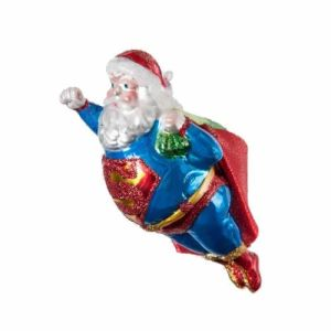 Because why does Santa need a sleigh with reindeer if he can fly unassisted in mid air? I mean he must be from planet Krypton.