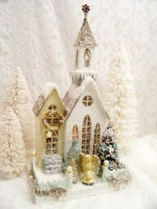 Because a miniature nativity scene may not be possible if it's DIY. Too many small pieces. Yet, this is lovely.
