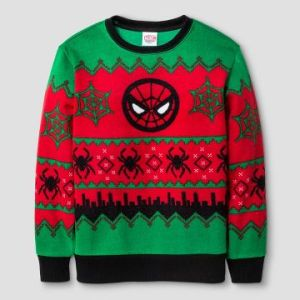 Nevertheless, I have to wonder if Spider Man has his own Christmas sweater. And if he does, did he make it himself?