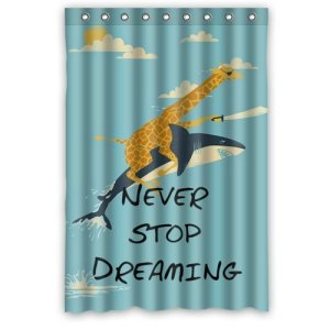 Even if your dreams pertain to a pirate giraffe riding a flying shark. Okay what the fuck?