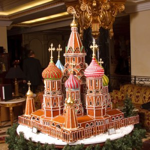 Yes, it's surely a Russian spectacle. It's said that Ivan the Terrible had the architect's eyes removed so he'd never construct another beautiful building like this.