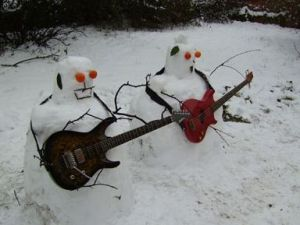 Guess they're really rocking for a blizzard if you know what I mean. Still, this is quite creative.