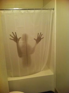 I'm sure this is from a horror movie of some sort. But yes, it looks kind of scary. Guaranteed to help guests with constipation.
