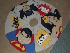 This one has Batman, Superman, and Wonder Woman. Or as I call them, the Golden Trio of DC Comics.