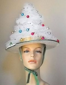 Think of it as one of those aluminum Christmas trees on your head. Now don't you think it looks completely ridiculous?