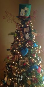Yes, this is another Alice in Wonderland Christmas tree. All I know is fans may want to see this.