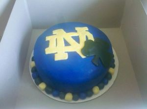 Well, this one has a shamrock and the Notre Dame logo. But I'm sure Fightin' Irish fans will love it.