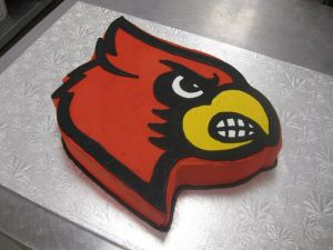 Since Louisville is home to the cardinals, right? And this one looks pretty mean.