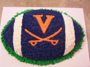Since the University of Virginia's team is the Cavaliers. Though the college was founded by Thomas Jefferson.