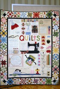 Well, this is just full of quilting stuff. But I'm sure die hard quilters would enjoy it.