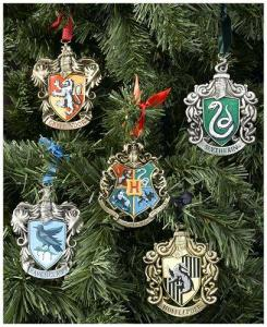 It's a set that includes the Hogwarts logo along with the 4 Houses. I'm sure none of these come cheap.