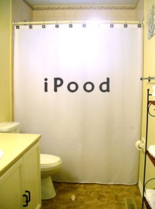 It's called the iPood. And it's not something that you should do in the shower. Nor should the iPeed.